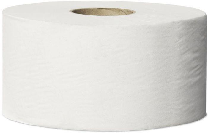 Papier toaletowy Tork Mini Jumbo Advanced biały jednowarstwowy