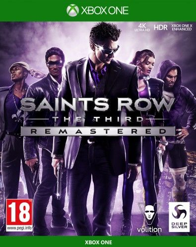 Saints Row The Third Remastered XOne