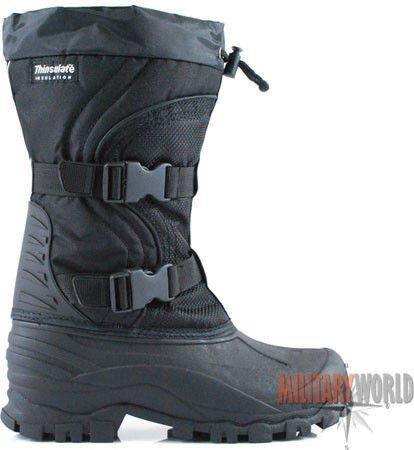 Mil-Tec Buty Śniegowce Thinsulate Czarne