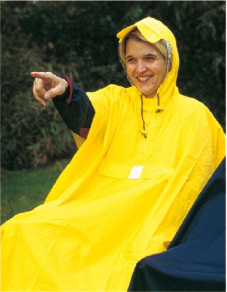 Hock Regenbekleidung Rain Care ponczo przeciwdeszczowe dla dorosłych, żółte, XL