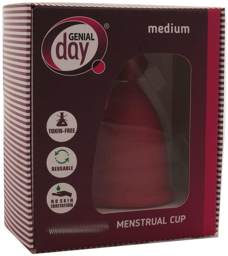 Kubeczek menstruacyjny medium - Genial Day - 1op