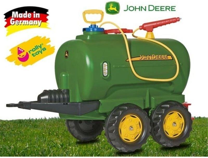 Rolly Toys John Deere cysterna dwuosiowa + pompka