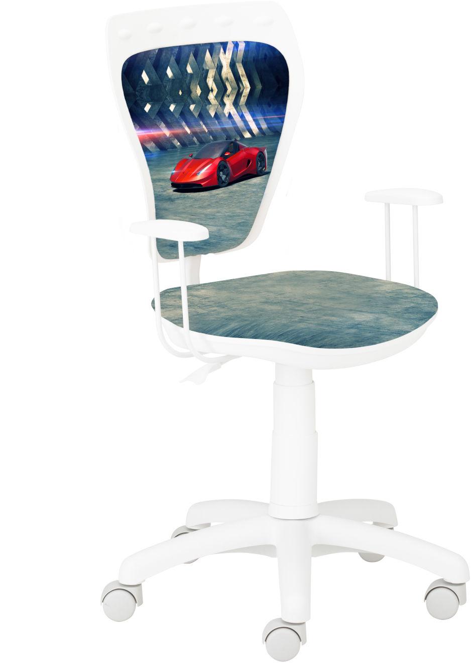 Krzesło Ministyle White Czerwony Samochód