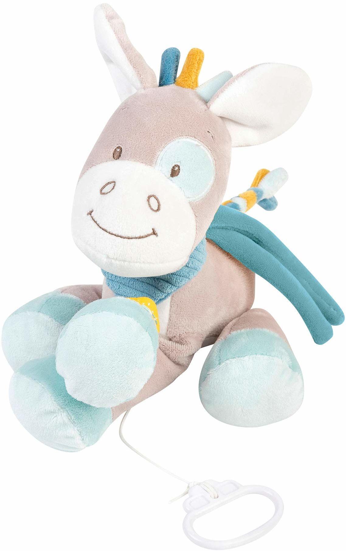 """Nattou Pozytywka koń Tim, Wiegelied""""La-Le-Lu"""", wysokość: 26 cm, Tim i Tiloo, beżowy"""
