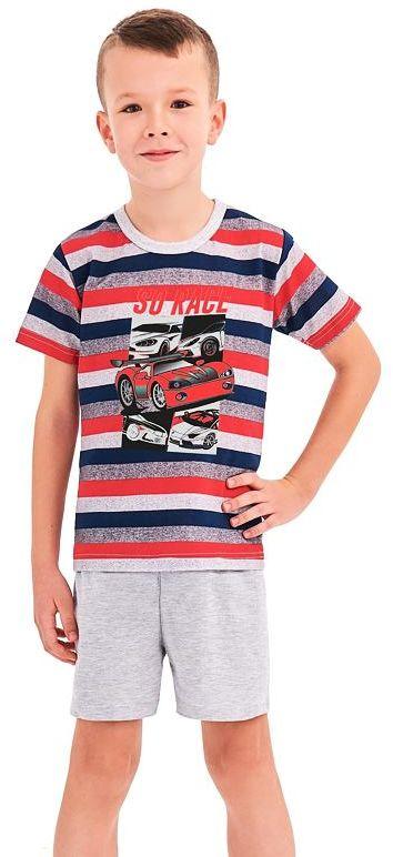 Piżama chłopięca Max w czerwone