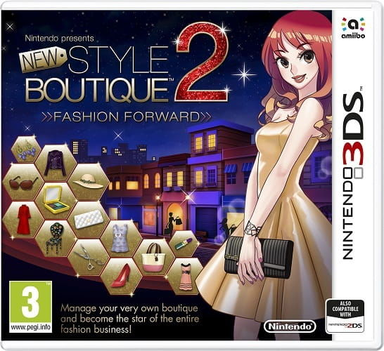 Gra New Style Boutique 2 - Fashion Forward (Nintendo 3DS)