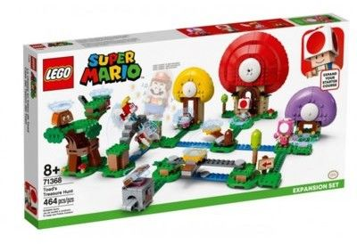 Lego Super Mario 8+ Toad szuka skarbu zestaw rozszerzający