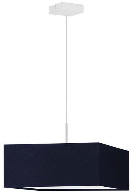 Kwadratowy żyrandol na białym stelażu - EX857-Bogoti - 18 kolorów