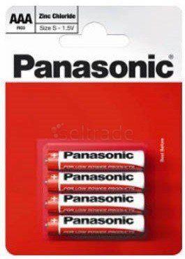 bateria cynkowo-węglowa Panasonic R03 AAA - blister