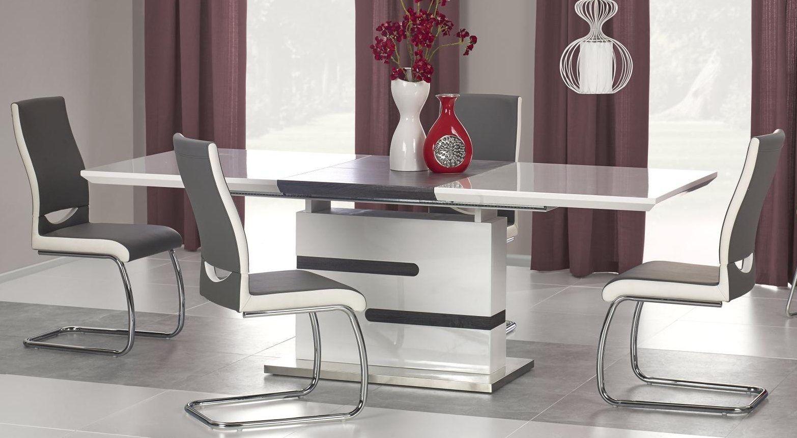 Zestaw: stół rozkładany Monaco i 4 krzesła K259 Halmar