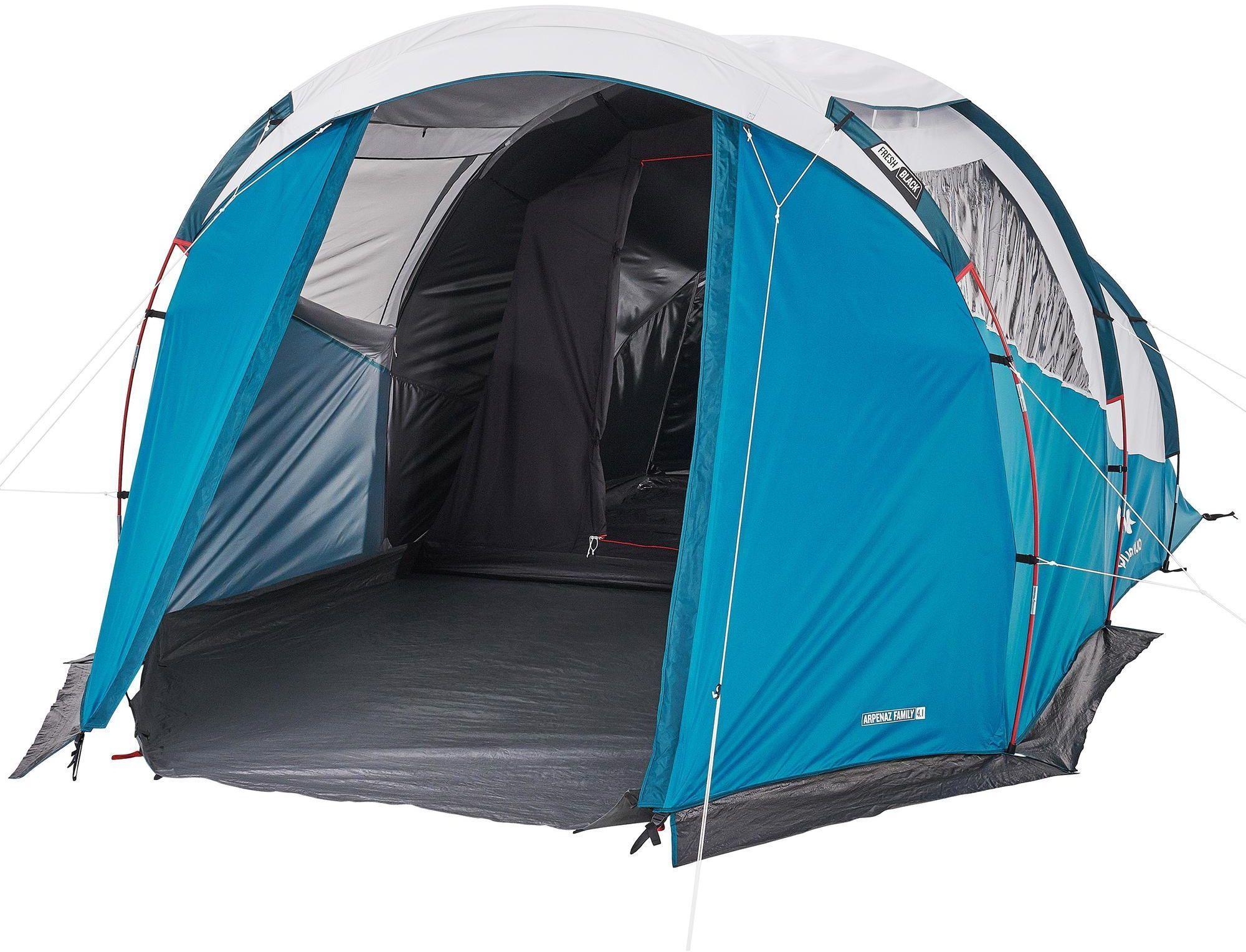 Namiot kempingowy Arpenaz 4.1 F&B 4-osobowy, 1 sypialnia
