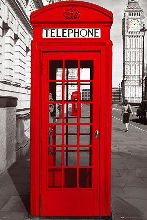 Empire 333681 Londyn telefon komórkowy plakat 61 x 91,5 cm