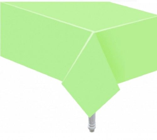 Obrus papierowy Pastelowe Party jasno zielony
