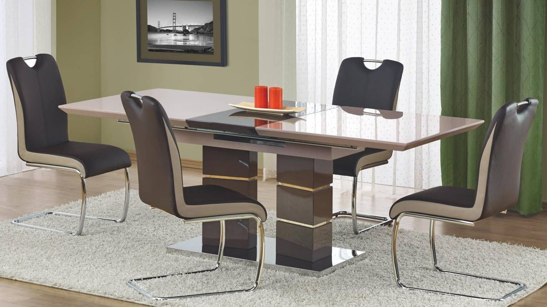 Zestaw: stół rozkładany Lord i 4 krzesła K184 Halmar