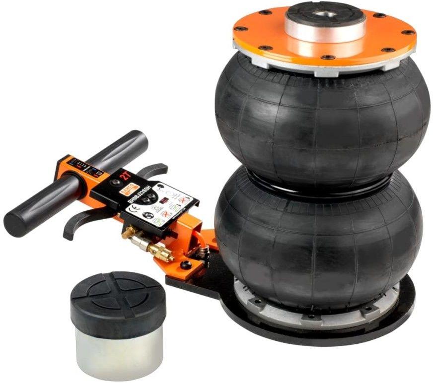 2 stopniowy samochodowy podnośnik pneumatyczny, bałwanek, udźwig 2 tony, BAHCO [BH9BJ22SSH]