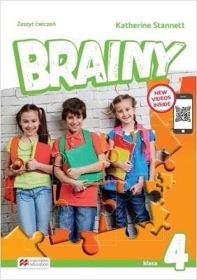 Brainy 4 WB MACMILLAN ZAKŁADKA DO KSIĄŻEK GRATIS DO KAŻDEGO ZAMÓWIENIA