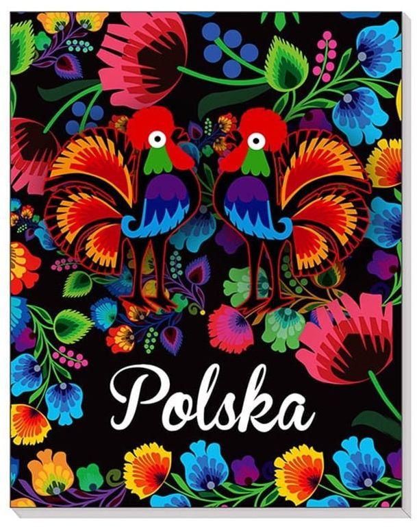 Notes 3D na magnesie Polska folk łowicki