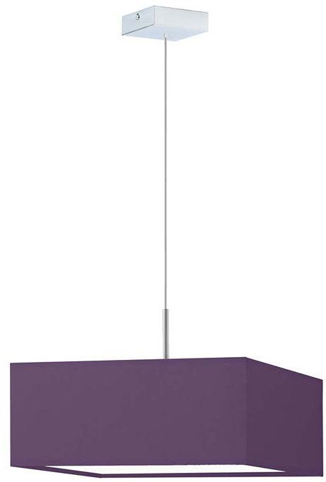 Kwadratowy żyrandol nad stół na stalowym stelażu - EX860-Bogoti - 18 kolorów
