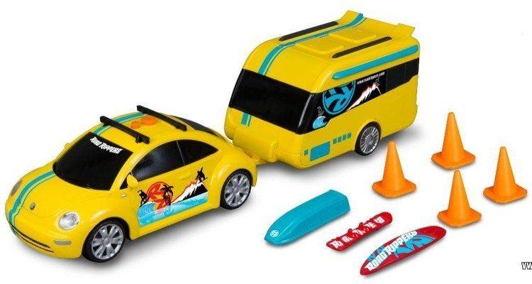 RoadRippers Beetle with Caravan DUMEL - Toy State
