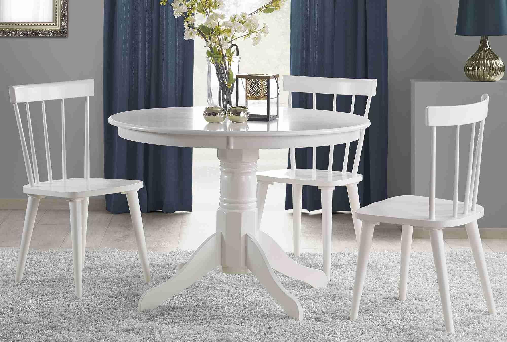 Zestaw: stół Gloster i 4 krzesła Barkley Halmar