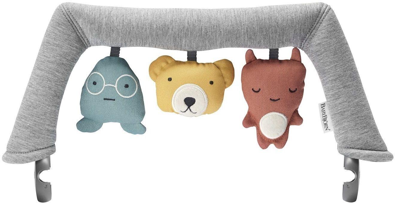 BabyBj rn zabawka do leżaczka BALANCE - Soft Friends