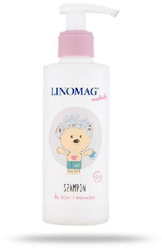 Linomag szampon do codziennej pielęgnacji skóry głowy oraz włosów dzieci i niemowląt od 1-go dnia życia 200 ml