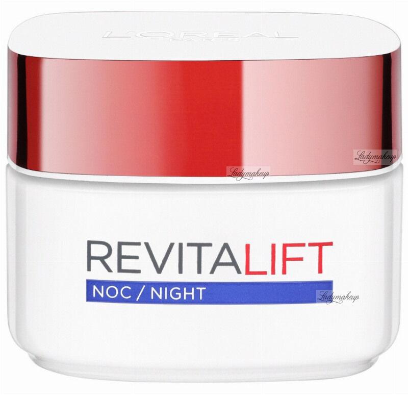 L''Oréal - REVITALIFT - Przeciwzmarszczkowy i silnie ujędrniający krem na noc - 40+ - 50 ml