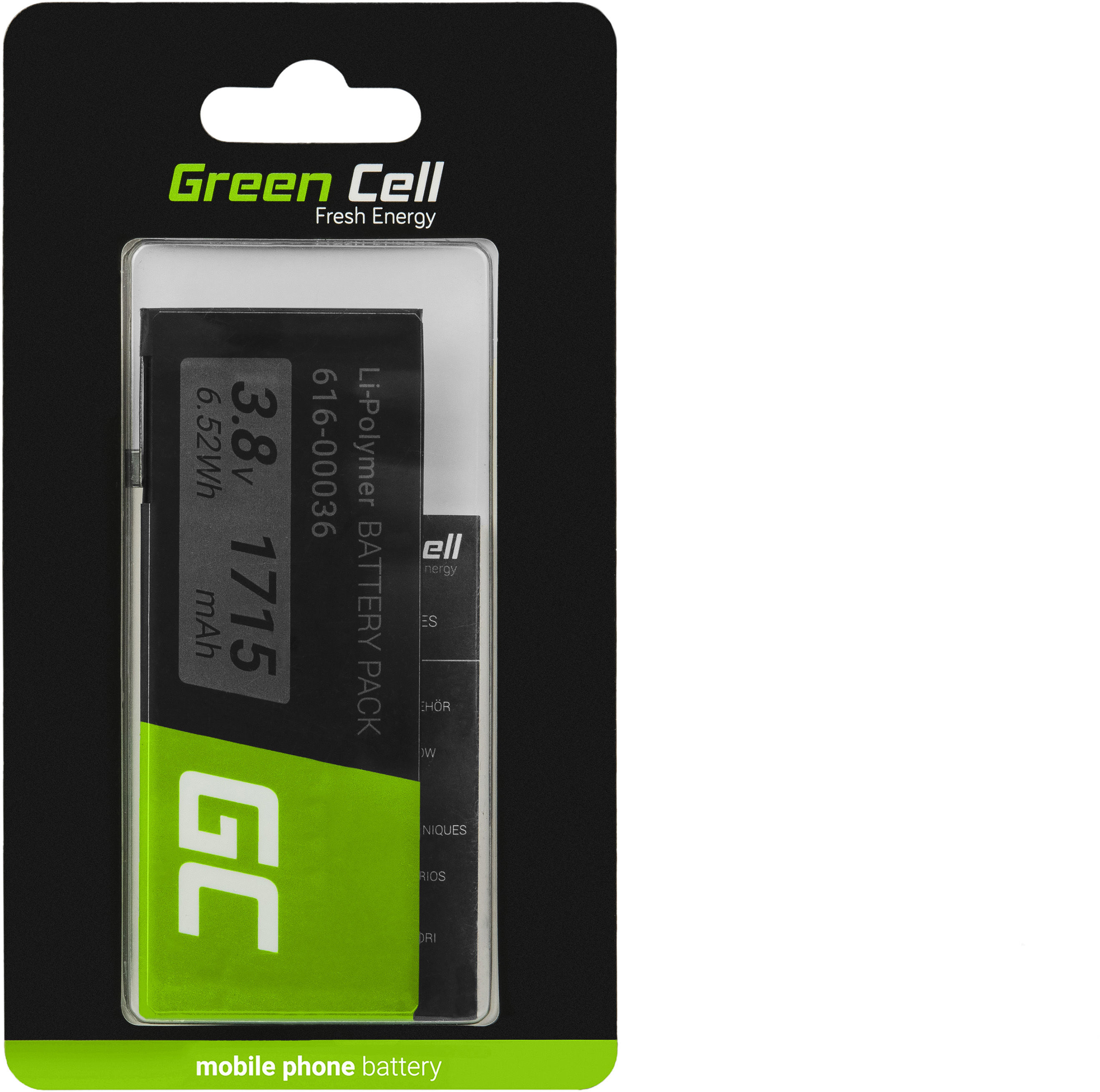 Bateria Green Cell A1688 do telefonu Apple iPhone 6S + zestaw narzędzi