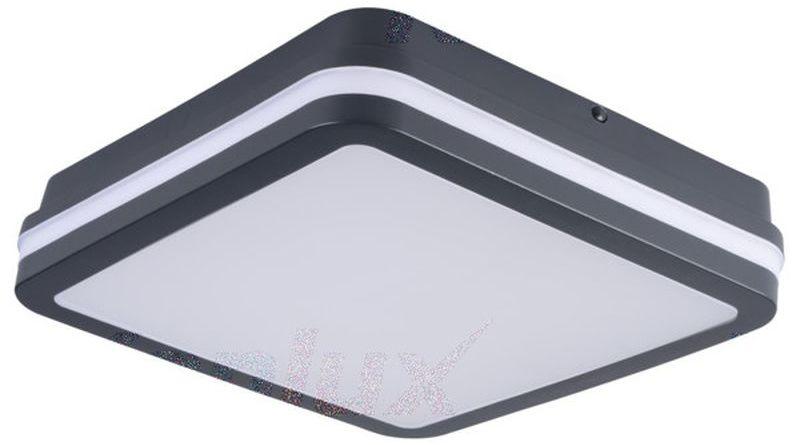 Plafoniera LED z czujnikiem ruchu BENO 24W NW-L-SE GR 1920lm 4000K IP54 33347