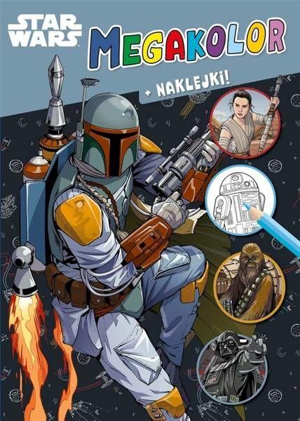 Megakolor. Star Wars - praca zbiorowa