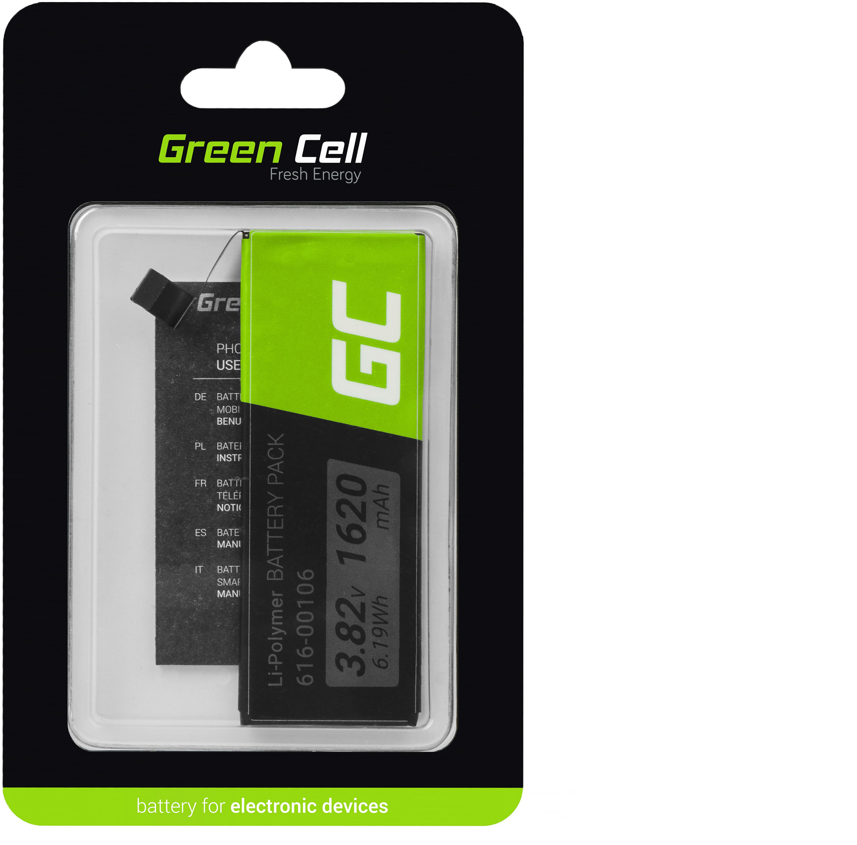 Bateria Green Cell A1662 do telefonu Apple iPhone SE + zestaw narzędzi