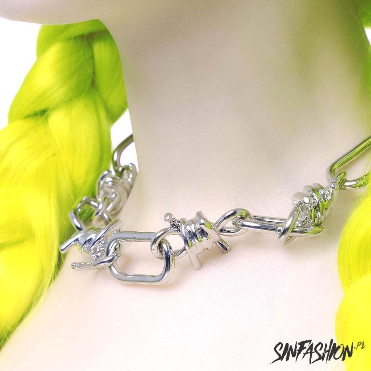 Naszyjnik killstar wired chain silver