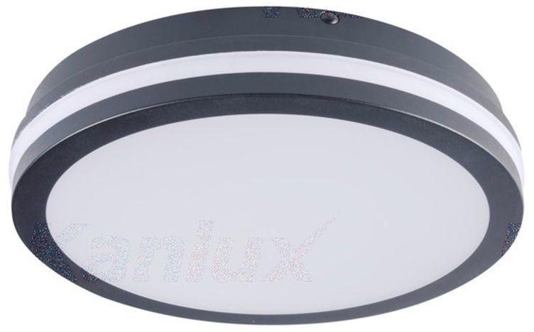 Plafoniera LED z czujnikiem ruchu BENO 24W NW-O-SE GR 1920lm 4000K IP54 33345