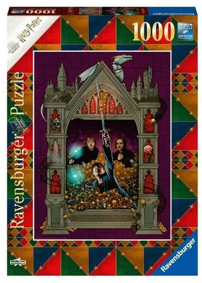 Puzzle 1000 Kolekcja Harry Potter 4 - Ravensburger