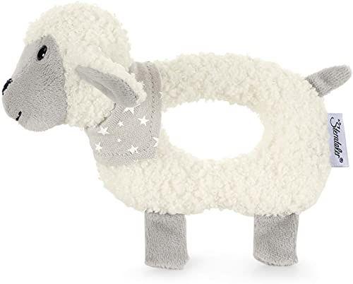 Sterntaler 3301968 Owca Stanley, wiek: 0-36 miesięcy, kolor: biały/szary