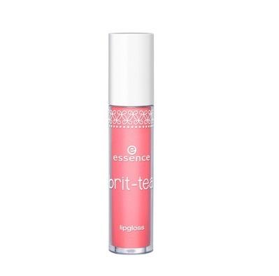 Essence Brit-tea Lipgloss Błyszczyk do ust 02 Pink to Go - 4ml Do każdego zamówienia upominek gratis.