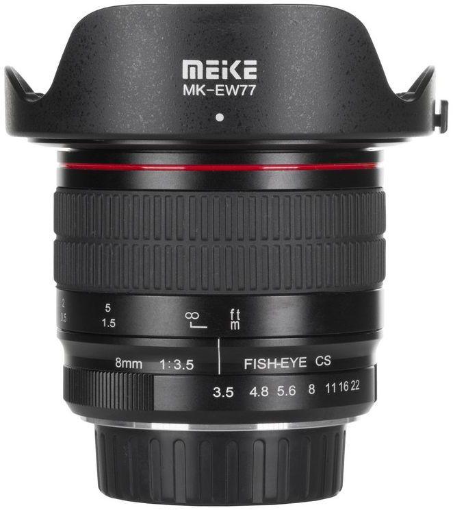 Obiektyw Meike MK-8mm F3.5 do Sony E