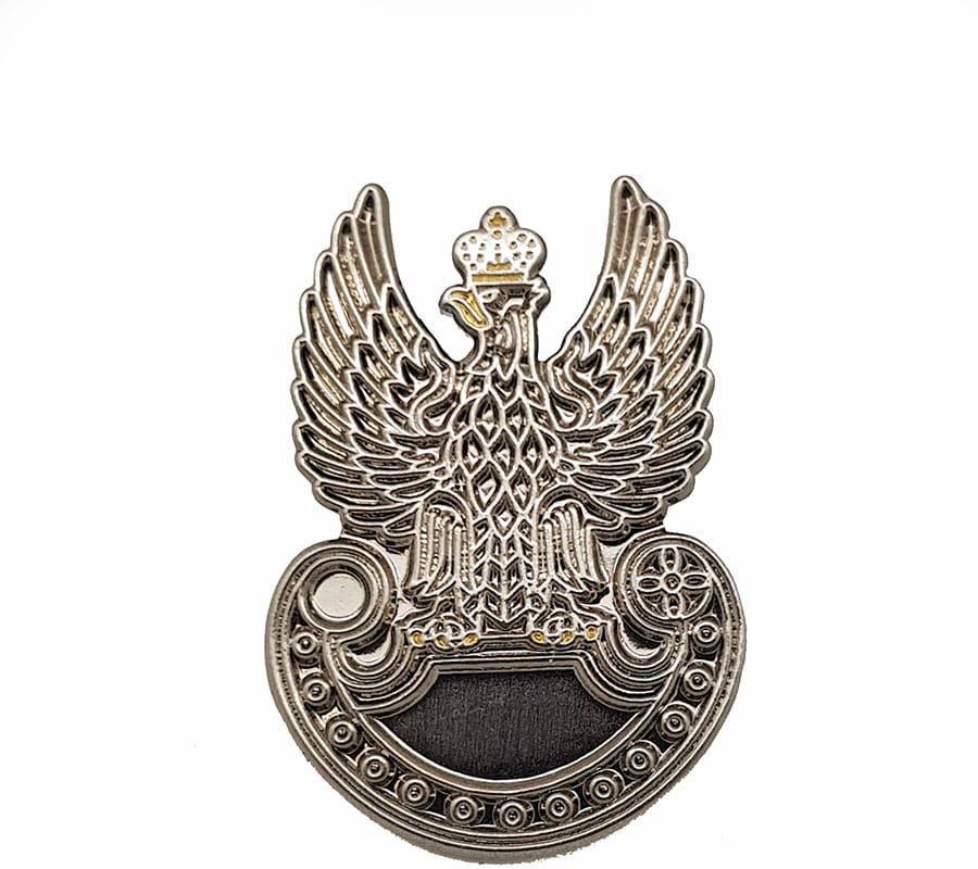Przypinka orzeł Wojskowy III RP
