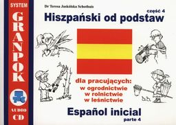 Hiszpański od podstaw część 4 ZAKŁADKA DO KSIĄŻEK GRATIS DO KAŻDEGO ZAMÓWIENIA