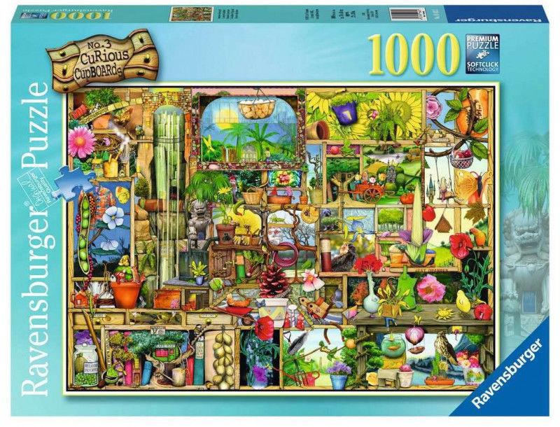 Puzzle 1000 elementów Półka ogrodowa (GXP-764289)