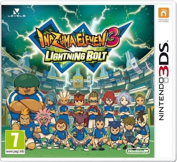 Gra Inazuma Eleven: Lightning Bolt (Nintendo 3DS)