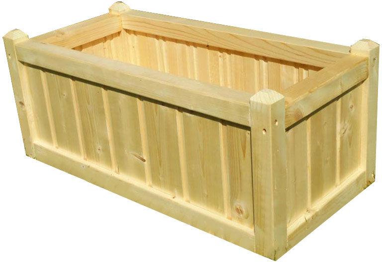 Prostokątna donica ogrodowa skrzynka 15 kolorów - Intra