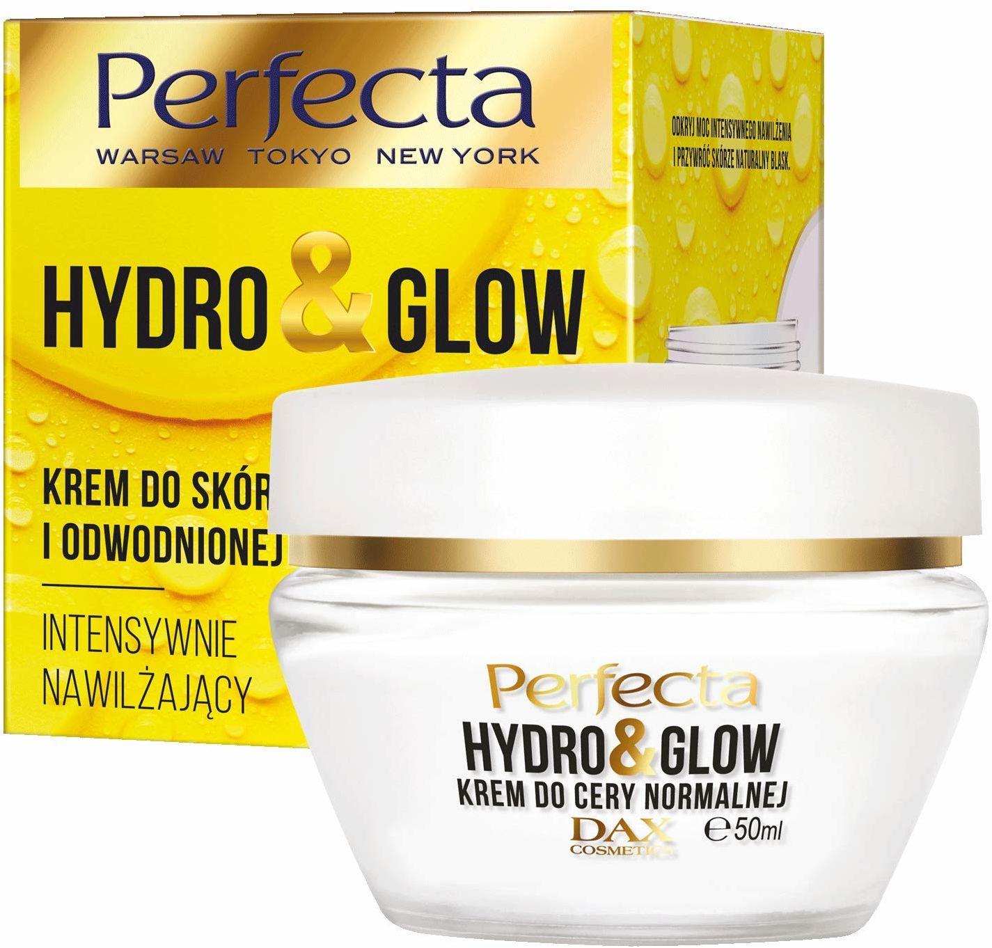 Perfecta Hydro&Glow Krem do skóry normalnej i odwodnionej intensywnie nawilżający.