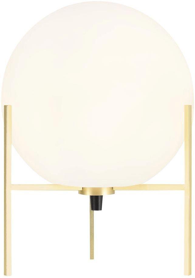 Lampa stołowa Alton 47645001 Nordlux biało-złota oprawa w nowoczesnym stylu