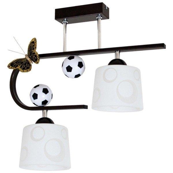 Lampa sufitowa Football wenge II