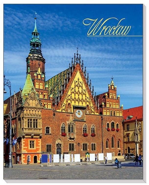 Notes 3D na magnesie Wrocław Ratusz