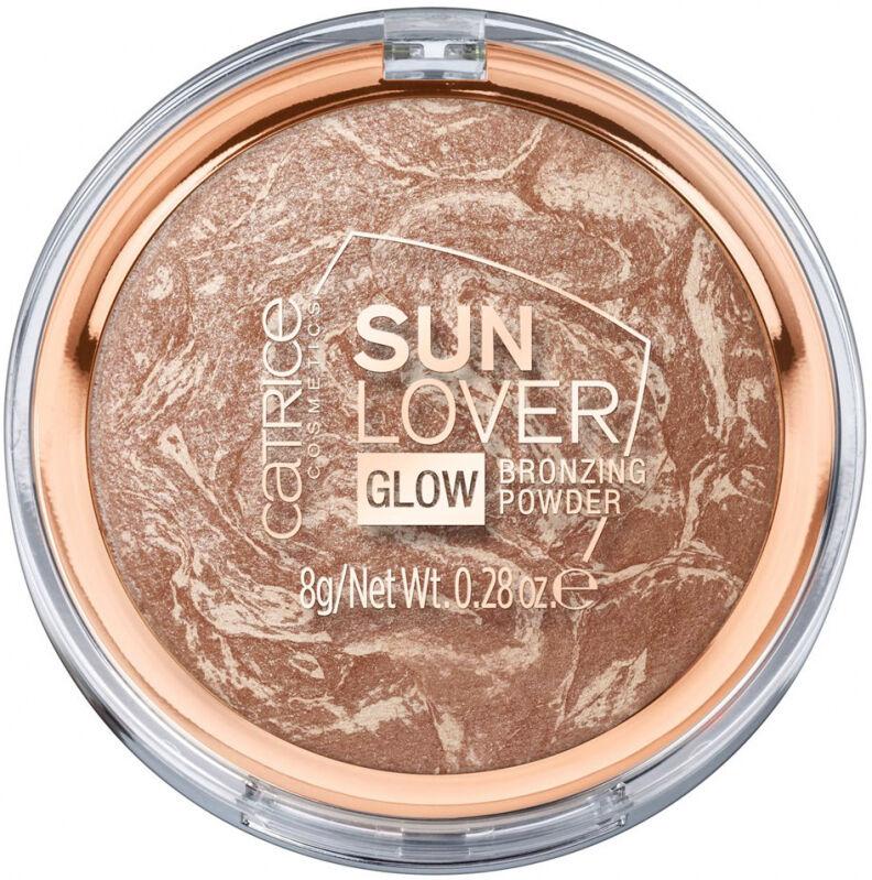 Catrice - SUN LOVER GLOW - BRONZING POWDER - Rozświetlający puder brązujący