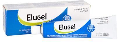 Elugel żel stomatologiczny redukujący płytkę nazębną 40 ml