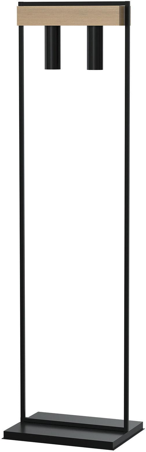 Lampa stojąca WEST BLACK 2xGU10 Wysyłka za 0 zł