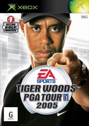 Tiger Woods PGA Tour 2005 Xbox Używana